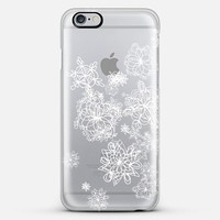 Silver Snow iPhone 6 Plus case by Marianna Tankelevich | Casetify