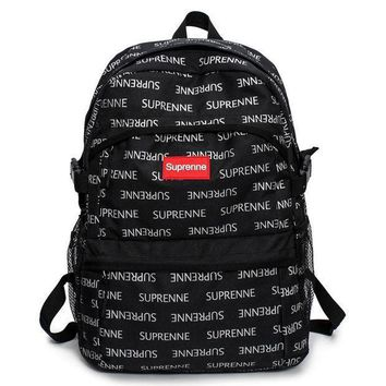 Tagre™ Supreme Fashion Print Sport School Shoulder Bag Satchel Backpack