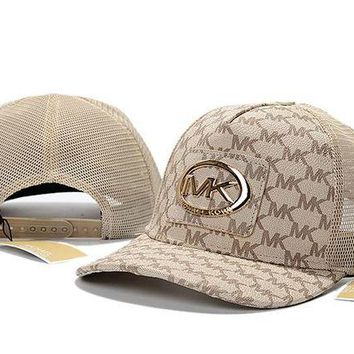 DCCKUN3 MICHAEL KORS embroidery Strap Cap Adjustable Golf Snapback Baseball Hat