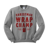 Christmas Wrap Champ Crewneck Sweatshirt