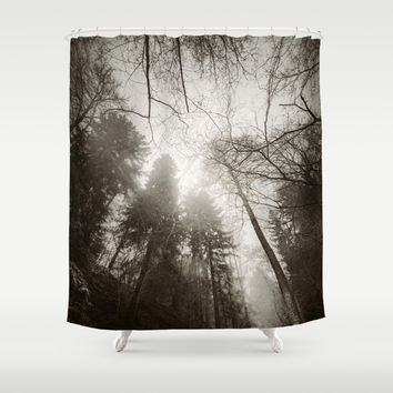 Thou shall not pass Shower Curtain by HappyMelvin