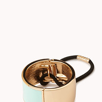 FOREVER 21 Lacquered Cuff Hair Elastic