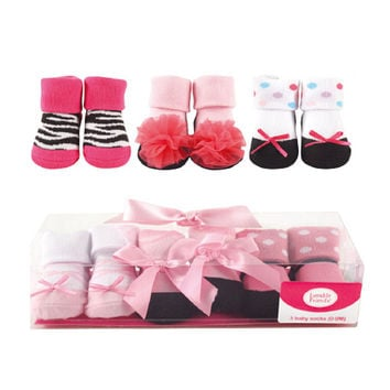 2017 Soft Newborn Lovely Baby Socks Newborn 3 Pairs Animal Boots Baby Boy Warm Cotton Socks For 0-9 Months Baby Girl Boy Socks
