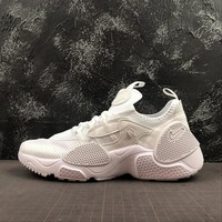 "Nike Air Huarache E.D.G.E. TXT ""Triple White"" Running Shoes - Best Online Sale"