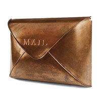 Copper Envelope Wall Mailbox