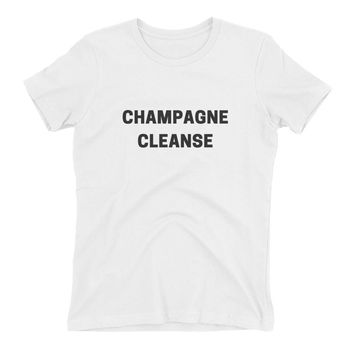 Champagne Cleanse Women's t-shirt