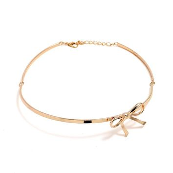 SODIA - Ribbon Collar Choker