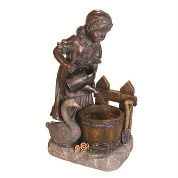 Garden Water Fountain - Ul Listed For Indoor