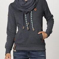Naketano REORDER III - Sweatshirt - indigo blue melange - Zalando.co.uk
