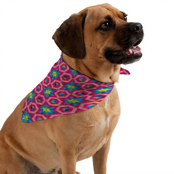 Raven Jumpo Facets Pet Bandana