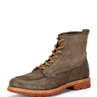 Phillip Lug Workboot, Charcoal - Frye