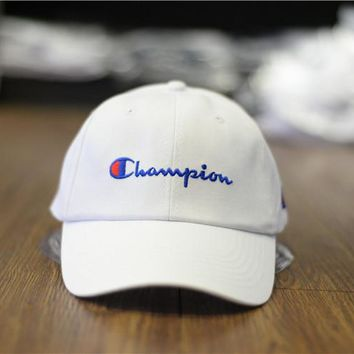Perfect Champion Women Men Hip Hop Embroidery Sunhat Baseball Cap Hat