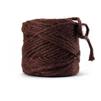 Knorr Prandell 3.5mm Jute Twine - 56m Dark Brown #981