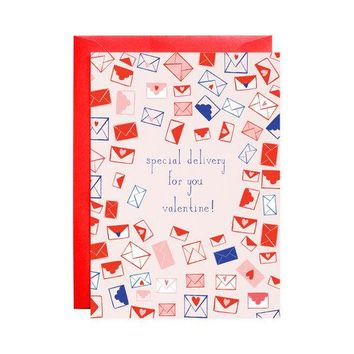 Sealed with a Heart Valentine Card