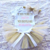 NEWBORN TUTU SET, BABY GIRL