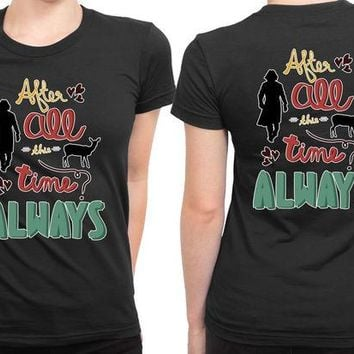 DCCKL83 Always Harry Potter 2 Sided Womens T Shirt