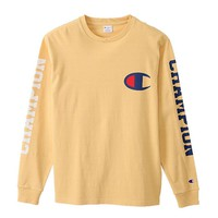 Champion Hot Sale print long sleeve Tee shirt top sweater