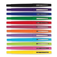 Paper Mate Flair Felt Tip Pens, Medium Point, Assorted, 12 Pack