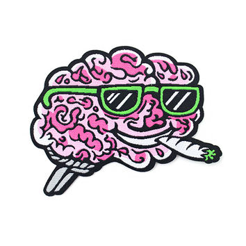 Brain On Drugs Patch