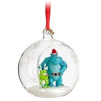 Mike and Sulley Sketchbook Ornament | Disney Store