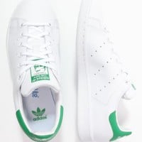 adidas Originals STAN SMITH - Trainers - white/green - Zalando.co.uk