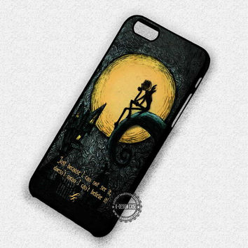 Just Because Quotes - iPhone 7 Plus 6 SE Cases & Covers