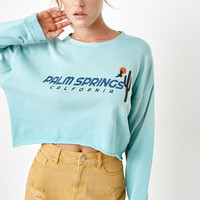 LA Hearts Palm Springs Crew Neck Sweatshirt at PacSun.com