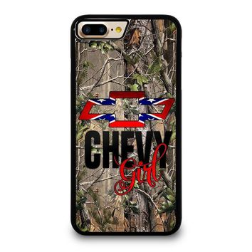 CAMO BROWNING REBEL CHEVY GIRL iPhone 7 Plus Case Cover