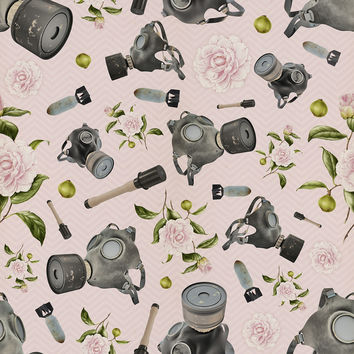 Don't Stop to Smell the Roses Removable Wallpaper