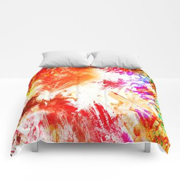 TROPICALIA IV Comforters by Chrisb Marquez