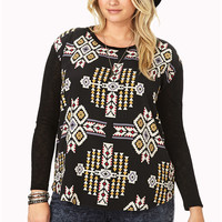 Out West Open-Knit Sweater