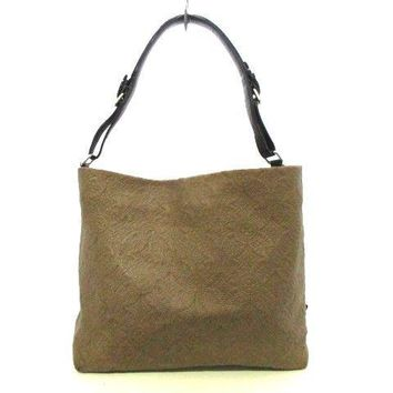 Auth LOUIS VUITTON Hobo GM M93159 Olive Antheia Monogram Antheia Suede Leather