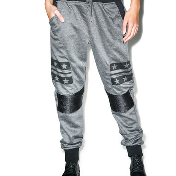 Retro Distrikt Lookin' McFly Joggers Charcoal