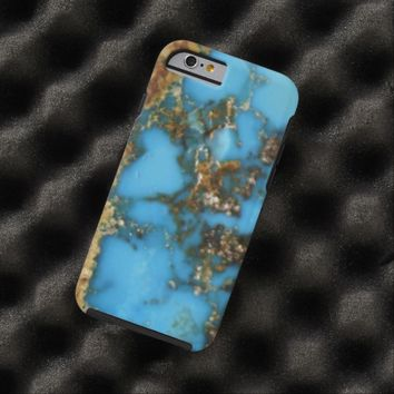 Natural Turquoise Stone Tough iPhone 6 Case