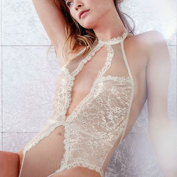 Keyhole Halter Teddy - Very Sexy - Victoria's Secret