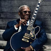 Bb King Guitar Poster 11x17 Mini Poster