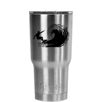 RTIC 20 oz Tumbler Surfing Laser Etched