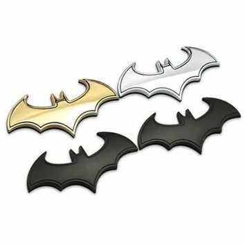 3d car stickers metal Bat Batman Badge Emblem Tail Decal Motorcycle Car Accessories Automobiles for JEEP Patriot bmw toyota