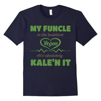 Funcle Vegan Shirt - Awesome Uncle Gift