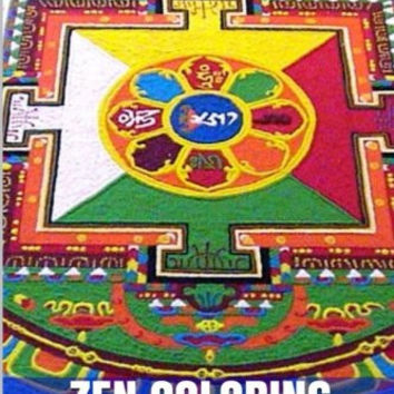 Zen Coloring: Feel Relaxation and Meditation Yoga and Mandala Coloring Book (Art Therapy and Mandala Designs)