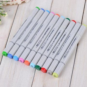 12 P Colors self-selection set Marker Pen commonly used Sketch marker copic markers