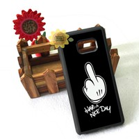 have a nice day fashion silicone edge case for samsung s3 s4 s5 s6 s6edge plus s7 s7edge s8 s8plus note2 note4 note5 cover