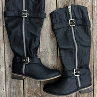 EVERYTHING GOES BOOTS - BLACK