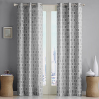 Intelligent Design Viva Window Curtain Pair|Designer Living