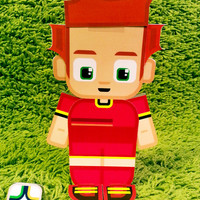 Belgium football soccer craft activity. Printable paper toy. Instant download. Make you own cards, banners and football soccer bunting!