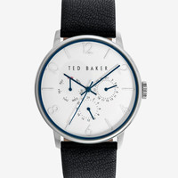 Round face watch - Black | Watches | Ted Baker