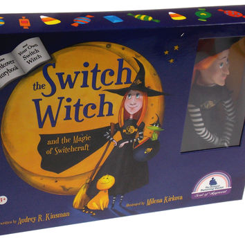 The Switch Witch And The Magic Of Switchcraft Hardcover Book & Doll Set SW2015