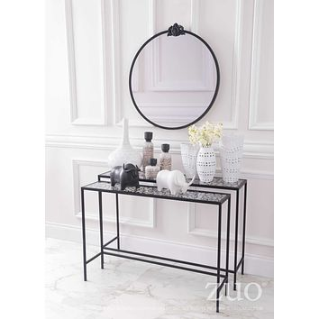 A10739 Web Set Of 2 Console Tables Black
