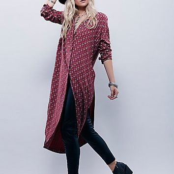 Free People Womens Pajama Party Wrap Top