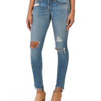 Made In Usa Destructed Skinny Jeans - Skinny - T.J.Maxx